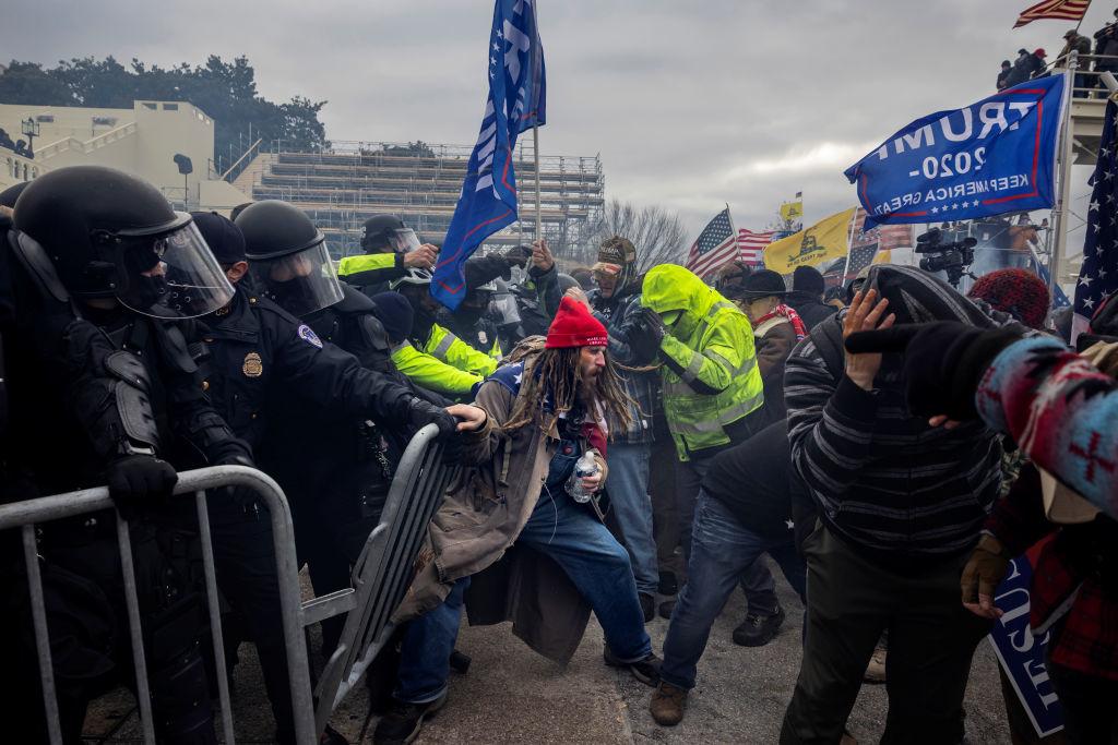 Cảnh sát Quốc gia Mỹ kêu gọi điều tra bạo động trong năm 2020 thay vì vụ đột nhập Điện Capitol hôm 6/1