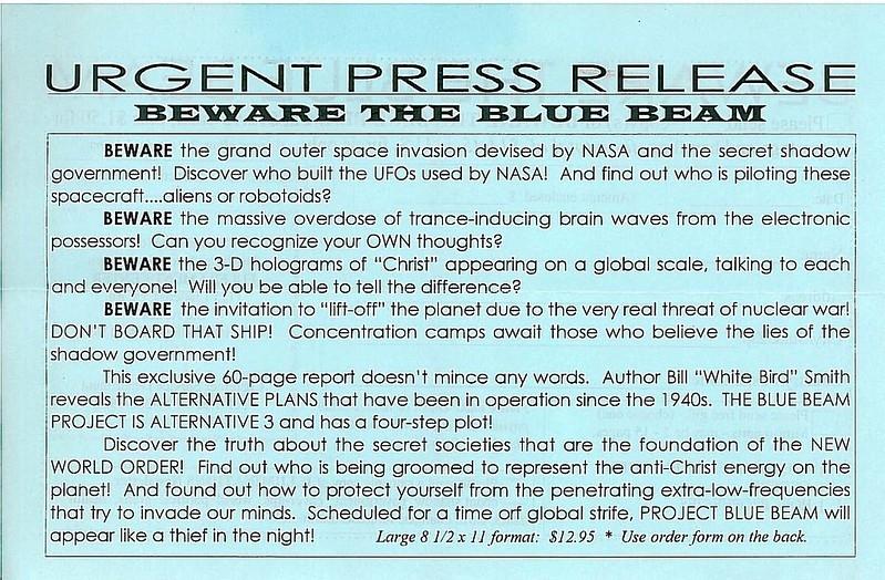 Một trong những giả thuyết được đưa ra cho rằng, các thành phố đó trên thực tế là một hình ảnh ba chiều, được các nhà chức trách tạo ra trong Dự án Blue Beam của NASA.