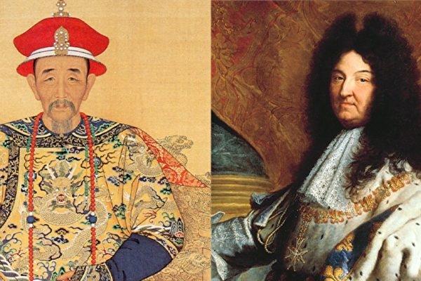 Văn hóa phương Đông và phương Tây huy hoàng dưới thời Khang Hy và Louis XIV