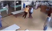 Bị nhắc đeo khẩu trang, bệnh nhân say xỉn đánh bác sĩ bầm tím mặt