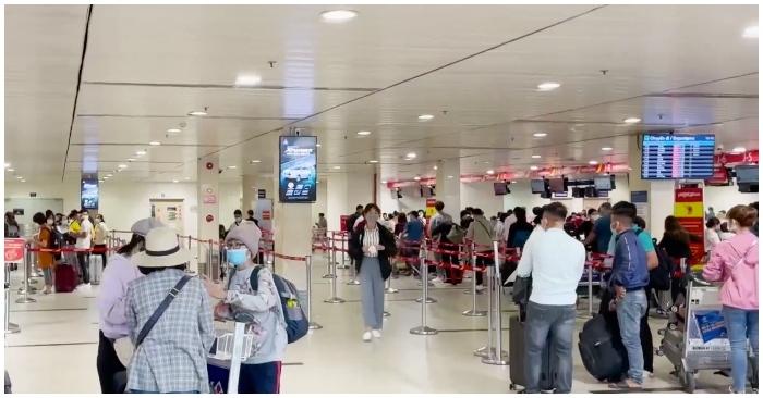 Lịch trình di chuyển của nhân viên sân bay Tân Sơn Nhất mắc COVID-19
