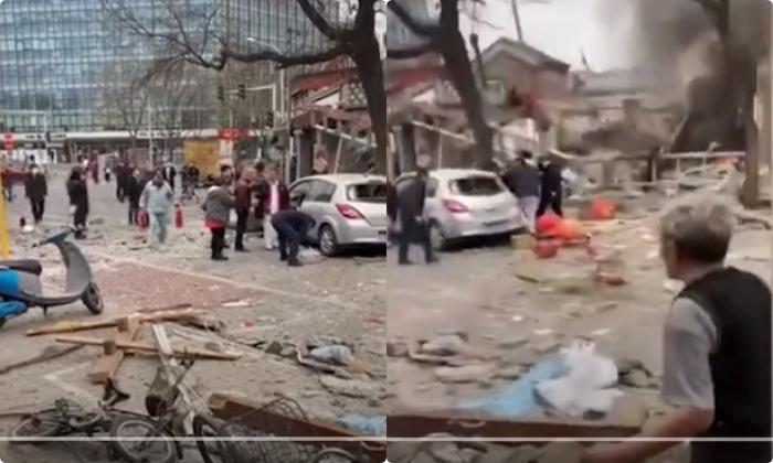 Một nhà hàng ở gần Trung Nam Hải và Thiên An Môn xảy ra cháy nổ chưa rõ nguyên nhân