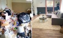 Người mẹ dành 4 năm để biến ngôi nhà bẩn thỉu trở thành một mái ấm xinh đẹp, hình ảnh trước và sau thật sự ấn tượng