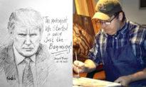 """""""Chỉ Mới Bắt Đầu"""" Hoạ sĩ vẽ Trump - Jon McNaughton chia sẻ thông điệp hy vọng"""