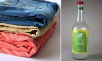 6 lý do bạn cần thêm giấm vào đồ giặt