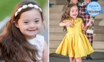 Người mẫu nhí 5 tuổi mắc hội chứng Down tự tin sải bước trên sàn diễn thời trang
