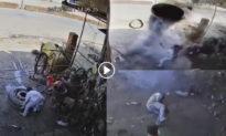 Nổ lốp trúng đầu, chủ garage ô tô tử vong tại chỗ