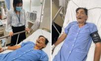 Diễn viên Thương Tín đột quỵ nhập viện cấp cứu tại bệnh viện quận 12