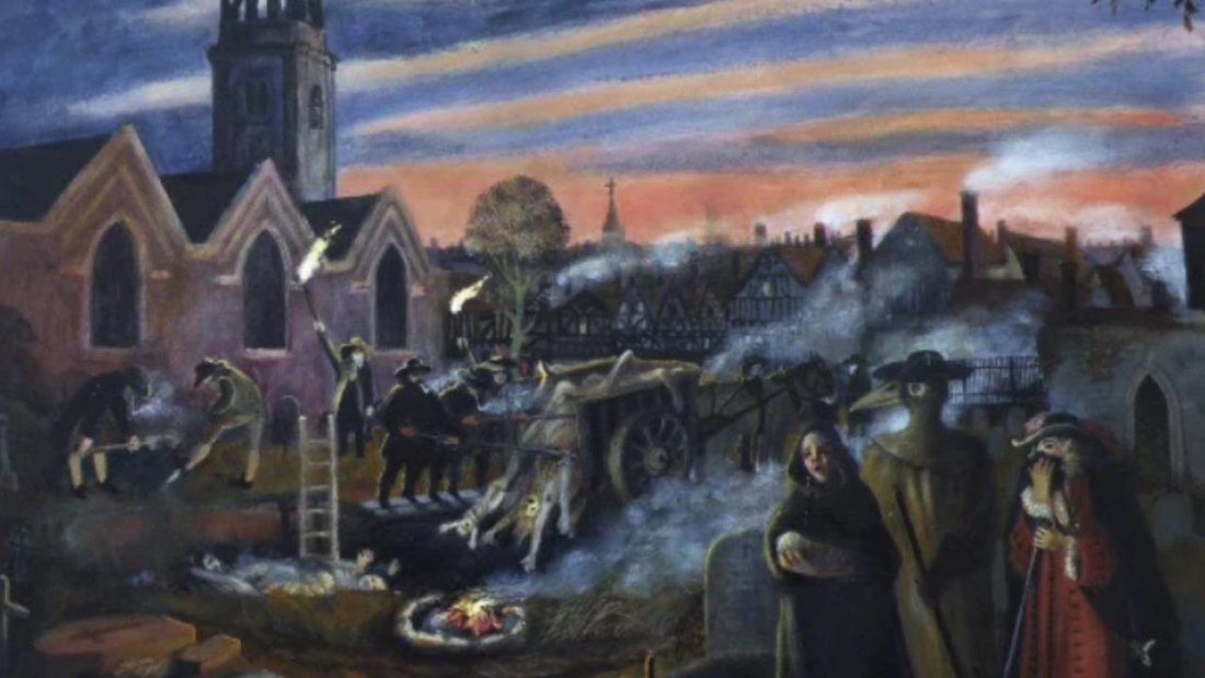 Cảnh tượng kinh hoàng gây sốc trong trận đại dịch hạch tại London