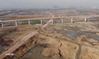 Trung Quốc: sông Trường Giang vừa gặp phải lũ lụt vào năm ngoái, năm nay đã cạn trơ đáy