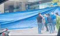 Điều tra nam thanh niên ngoại quốc rơi từ tầng 18 chung cư Golden Place ở Hà Nội