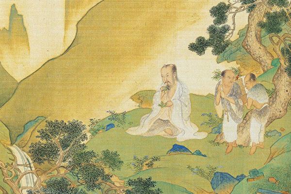 """Ở Á Đông cổ đại, hàng nghìn năm nay đều là Y - Đạo không tách biệt, rất nhiều Thần y là người tu Đạo, rất nhiều Đạo sĩ cũng rất am hiểu trong việc tiêu trừ ôn dịch. Hình minh họa là bức tranh chân dung Thần Nông, từ bức tranh """"đế vương đạo thống vạn niên đồ"""" của Cừu Anh triều Minh."""