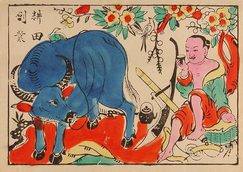 Năm Sửu nói chuyện truyền thuyết về trâu trong 12 con giáp