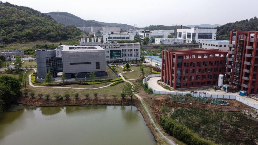 Viện Virus học Vũ Hán, Trung Quốc. (HECTOR RETAMAL / AFP qua Getty Images)