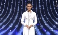 Người đẹp Myanmar khóc cầu cứu cộng đồng quốc tế tại Chung kết Miss Grand International