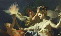 """Vẻ đẹp vĩnh hằng của Chân lý và Tình yêu thiêng liêng qua bức họa """"Aurora rời khỏi Tithonus"""""""