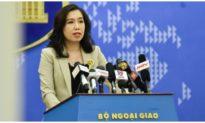 Việt Nam lên tiếng về việc Trung Quốc diễn tập ở đảo Trí Tôn thuộc quần đảo Hoàng Sa