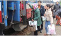 Trong tháng 4 và 5, trẻ em đi tàu được giảm 50% giá vé