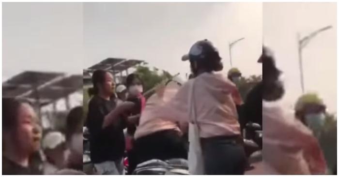 Mâu thuẫn trên Facebook, nữ sinh ở Bình Phước bị đánh hội đồng