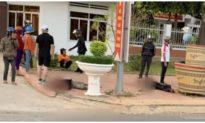 Một người chết, 1 nguy kịch trước cổng UBND huyện ở Đắk Nông