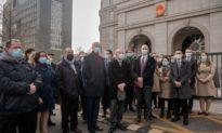Trung Quốc mở phiên tòa xử người Canada thứ hai, 28 nhà ngoại giao đứng ngoài tòa án lên tiếng ủng hộ Canada