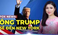 TỐI 8/3: Những người ủng hộ và phản đối ông Trump ĐỤNG ĐỘ ở New York