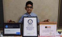 Cậu bé 6 tuổi ở Ấn Độ trở thành lập trình viên nhỏ tuổi nhất thế giới