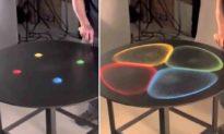 Nghệ sĩ Nhật Bản sử dụng âm thanh để biến cát thành những hoa văn đẹp mắt