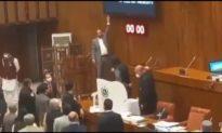 Quốc hội Pakistan phát hiện 6 camera gián điệp Trung Quốc trong phòng bỏ phiếu, gây náo loạn