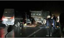 Xe limousine tông ôtô tải ở Thái Nguyên, 5 người thương vong