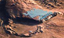 Công ty kiến trúc công bố kế hoạch về thành phố bền vững đầu tiên trên sao Hỏa