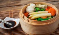 Hấp rau và uống kombucha để thải độc và tăng cường sinh lực