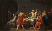 """Diễn giải bức tranh nổi tiếng phương Tây: """"Cái chết của Socrates"""""""