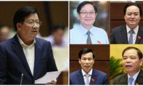 Phó Thủ tướng Trịnh Đình Dũng và 12 Bộ trưởng chính thức rời ghế Chính phủ