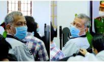 Trịnh Sướng và 38 đồng phạm trong đường dây xăng giả hầu tòa