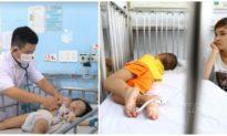 Đã có 4 trẻ bị tử vong do tay chân miệng, số ca mắc vẫn đang tăng cao