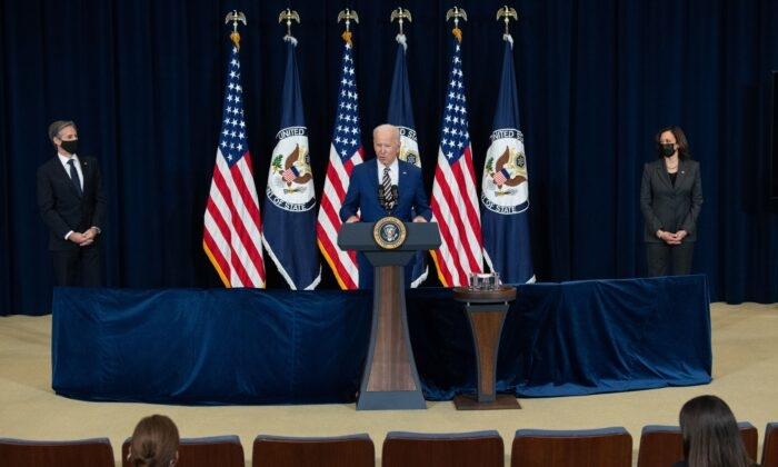 Người Mỹ đang sống dưới chính quyền Biden chống Mỹ