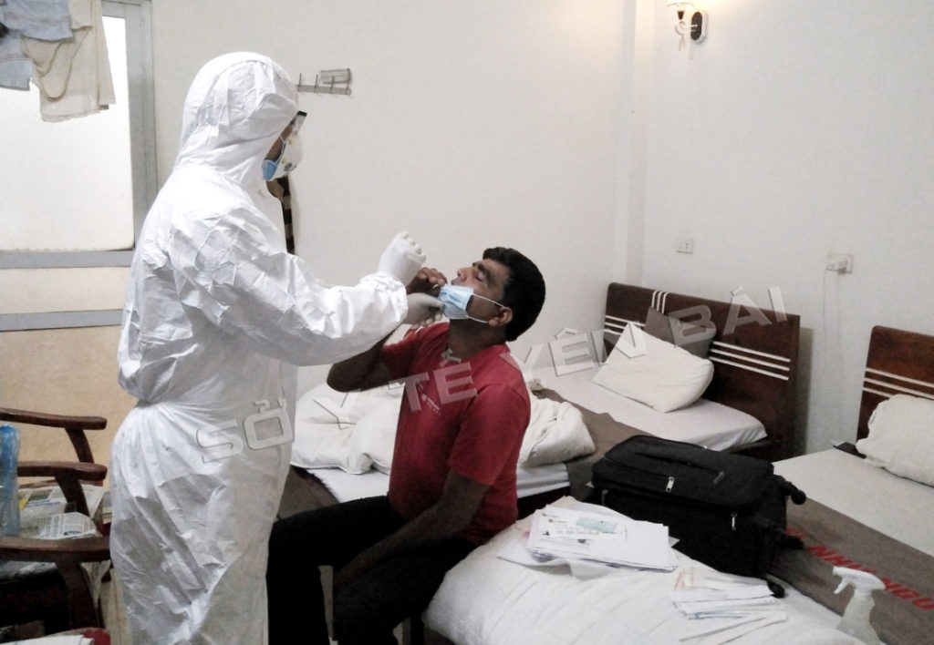 Bộ Y tế hỏa tốc đề nghị xử lý trường hợp nhiễm COVID-19 từ chuyên gia Ấn Độ