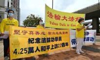 Hồng Kông và Đài Loan kỷ niệm cuộc thỉnh nguyện ôn hòa dẫn đến cuộc bức hại hàng triệu học viên Pháp Luân Công