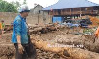 Lào Cai: Lũ ống ập về lúc nửa đêm, 3 người thiệt mạng