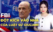 """CHIỀU 29/4: Con trai luật sư Rudy Giuliani: Cuộc đột kích của FBI là """"đáng ghê tởm"""""""