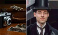 Người đàn ông ngạc nhiên khi nhìn thấy mình trong bức ảnh năm 1905