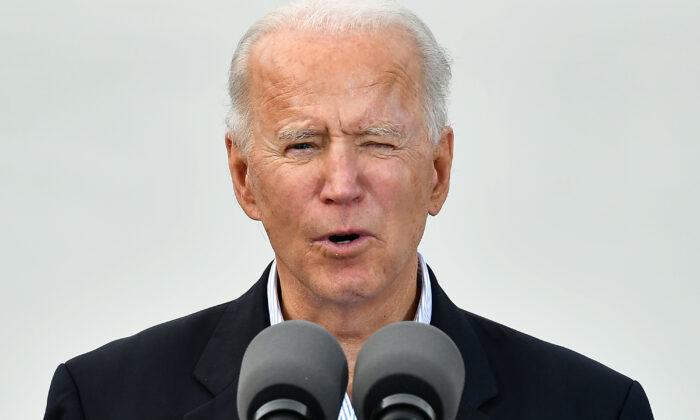 Ông Biden nói đùa? - PV không thể hỏi về Israel 'trừ phi đứng trước mũi chiếc xe mà tôi leo lên'