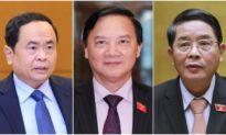 Quốc hội Việt Nam có 3 phó chủ tịch mới