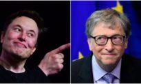 Elon Musk châm biếm Bill Gates bằng một bức tranh