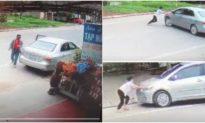 Nghệ An: Bắt tài xế lái ô tô cướp 2 két bia tại tiệm tạp hoá