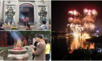 Phú Thọ: Bắn pháo hoa tầm cao dịp giỗ Tổ Hùng Vương