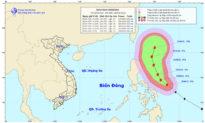 Tin bão: Xuất hiện siêu bão Surigae giật trên cấp 17