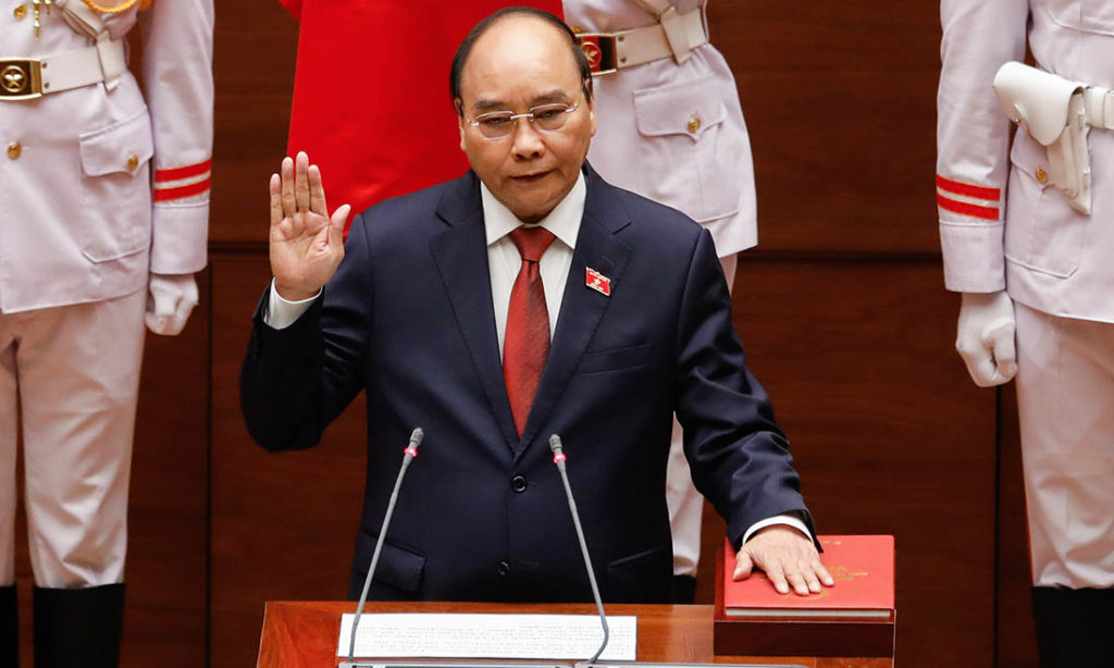 Ông Nguyễn Xuân Phúc được bầu làm Chủ tịch nước Việt Nam