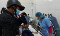 35 học sinh tiểu học ngộ độc hô hấp nghi do chơi slime